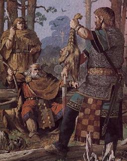 [Human] Jorrundr Lotharsson: Veteran Warrior Boru